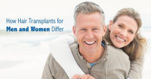 How Women and Men differ with Hair Transplantation.